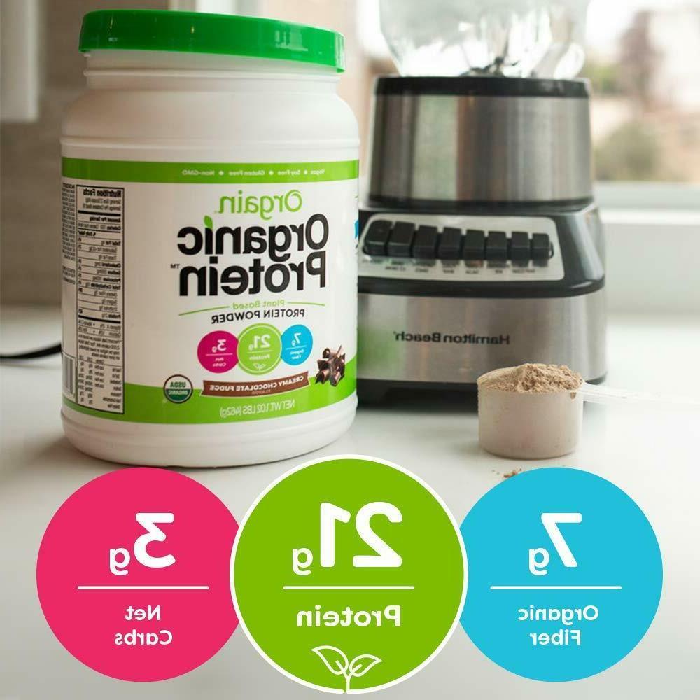 Orgain Organic Protein Creamy Fudge 2.03