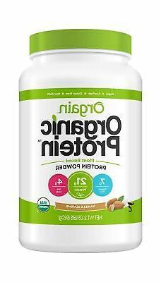 Orgain Organic Plant Based Protein Powder, Vanilla Almond, 2