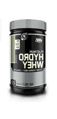Optimum Nutrition Platinum Hydro Whey Isolate Chocolate Mint