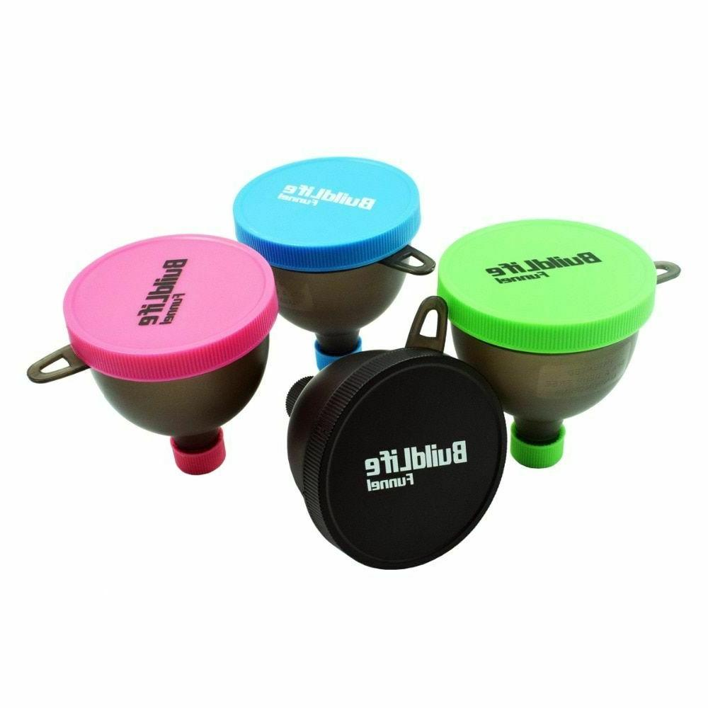 Portable Protein Whey Funnel