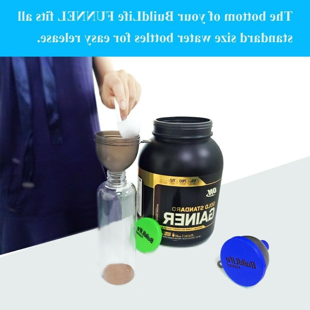 Portable Container Whey Protein Funnel