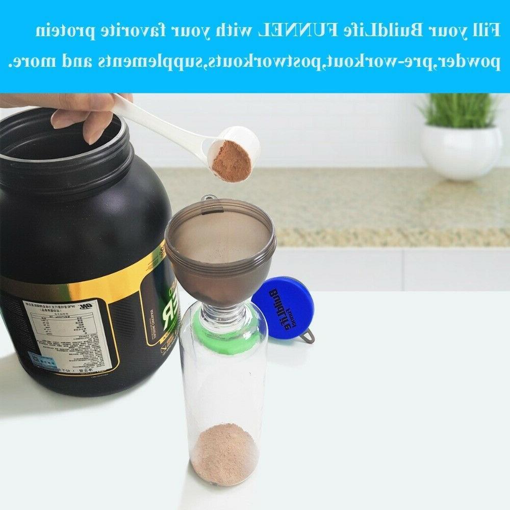 Portable Protein Whey Storage Powder Funnel