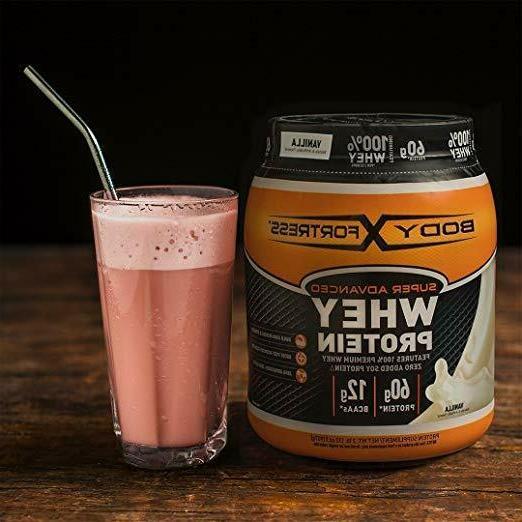 Body Fortress Whey Protein Powder, Free, 5 lbs