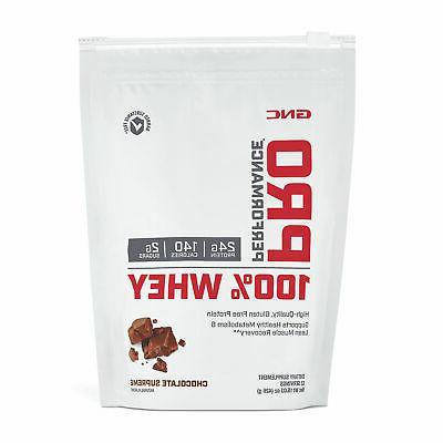 pro performance 100 whey protein chocolate supreme