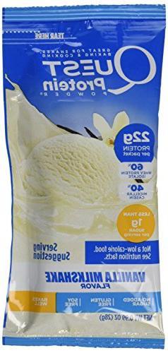 Quest Nutrition Protein Powder, Vanilla Milkshake, 22g Prote