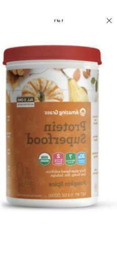 Protein Superfood, Amazing Grass, 11.3oz Pumpkin Spice