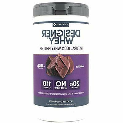 sale designer whey protein powder double chocolate