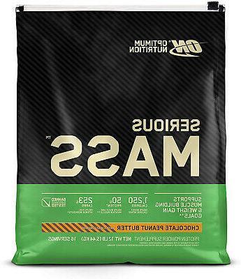 serious mass gain supplement peanut