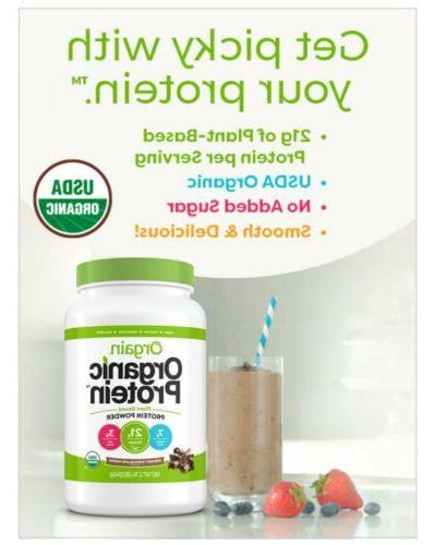 Orgain USDA Organic Plant Protein Powder, NEW! FREE