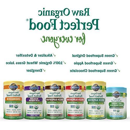 Garden Green Superfood Raw Organic Perfect Food 7.4oz Powder