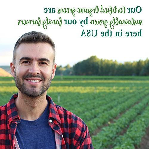 Garden of Vegan Green Raw Organic Perfect Whole Food Dietary Supplement, 7.4oz