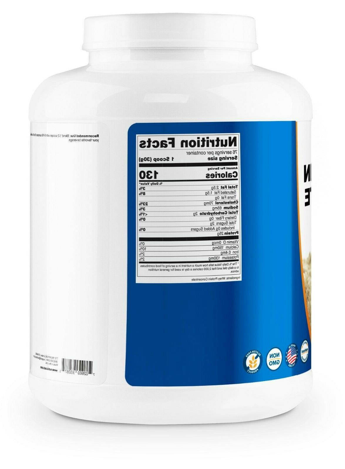 Nutricost Protein Concentrate 5LBS Premium Powder