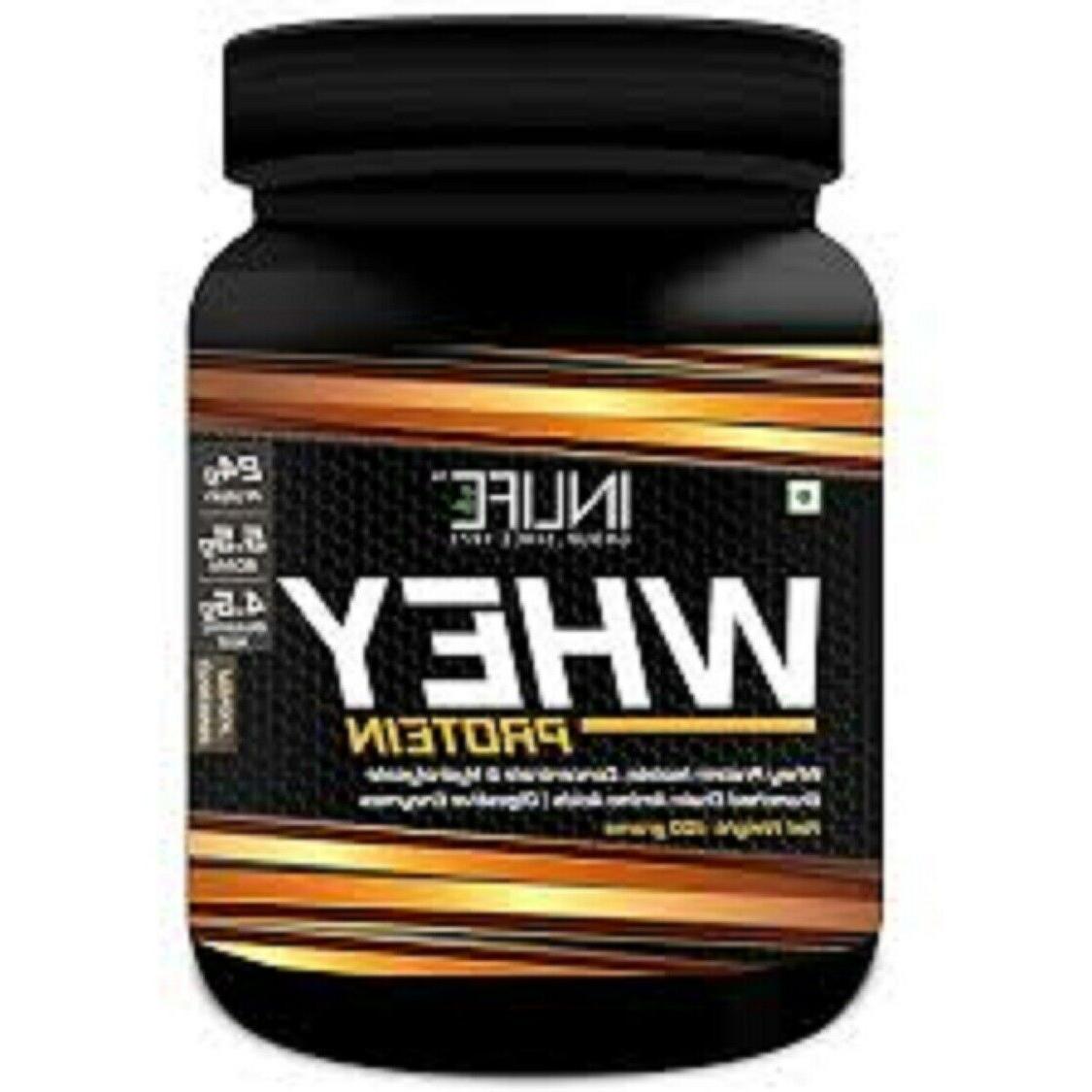 Inlife Whey Protein Powder 400 GM CHOCLATE FALVOUR BEST PROD