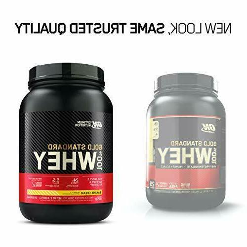 Whey Protein Powder, Banana Cream, 2