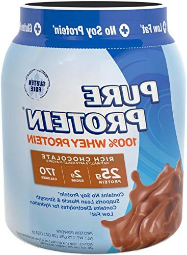 Pure 100% Protein Chocolate, oz