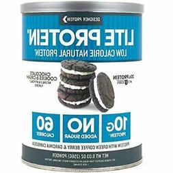"Lite, Chocolate Cookies "" Cream, 9.03 Ounce, Low Calorie Pro"