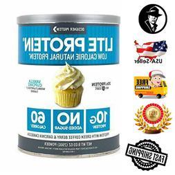 Designer Protein LITE, Low Calorie Natural Protein, Vanilla