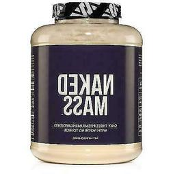 NAKED MASS - Natural Weight Gainer Protein Powder - 8lb Bulk