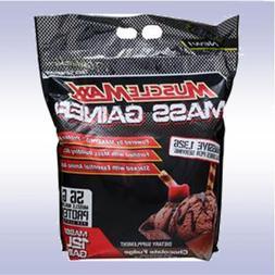 MUSCLE MAXX MASS GAINER  protein creatine bcaa carbs glutami
