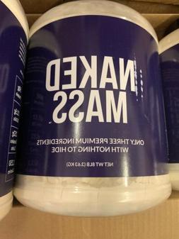 NAKED MASS - Natural Weight Gainer Protein Powder 8lb Bulk G