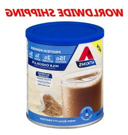 Atkins Milk Chocolate Protein Powder 10.23 Oz  10 Servings W