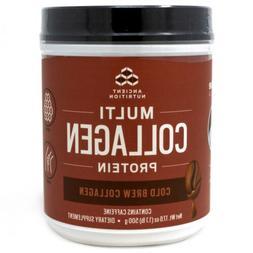 Ancient Nutrition Multi Collagen Protein Powder, Cold Brew F