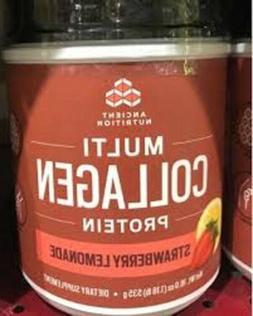 Ancient Nutrition Multi Collagen Protein Powder, Strawberry