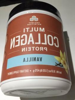 Ancient Nutrition Multi Collagen Protein Powder, Vanilla Fla