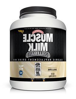 Muscle Milk Collegiate Protein Powder, Vanilla 'N Crème, 20