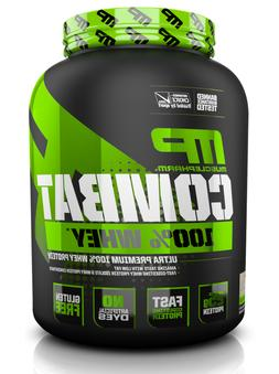 MusclePharm Sport Combat 100% Whey Protein 5 lbs  FREE SHIPP