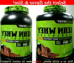 MuscleSport LeanWhey Revolution Fat Burning Weight Loss Prot