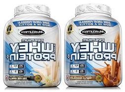 MuscleTech 5 lb Jar 100% Whey Protein Powder Premium Vanilla