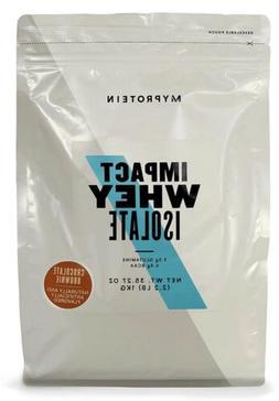 Myprotein Impact Whey Isolate Protein Powder Chocolate Smoot