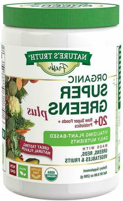 Nature's Truth Daily Super Greens Powder with Reds, Prebioti