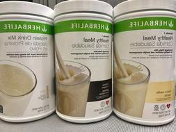 NEW 2X HERBALIFE FORMULA 1 HEALTHY MEAL & 1X  PROTEIN DRINK