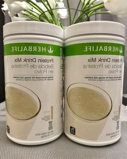 2X HERBALIFE PROTEIN DRINK MIX  EXP 04/2022