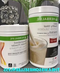 NEW HERBALIFE FORMULA 1 HEALTHY MEAL SHAKE & PERSONALIZED PR