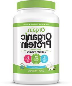 NEW Orgain Organic Protein Plant Based Powder Vanilla Bean 2