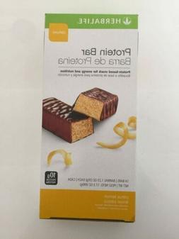 NEW Herbalife Protein Bar Deluxe Chocolate Peanut /Citrus 14