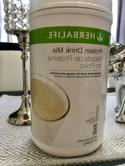 NEW HERBALIFE PROTEIN DRINK MIX - VANILLA FLAVOR  29.6 oz  L