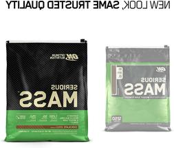 NEW Optimum Nutrition Serious Mass Weight Gainer Protein Pow