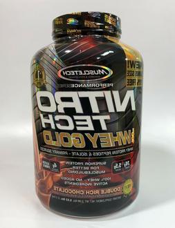 Muscletech Nitro Tech 100% Whey Gold Protein 5.5 Lb