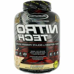 MuscleTech Nitro Tech Whey Protein 4 lbs, 40 Servings PICK F
