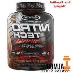 Muscletech, Nitro Tech Ripped, Ultimate Protein + Weight Los