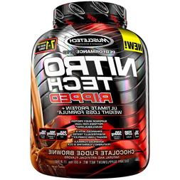 MuscleTech Nitro Tech Ripped Ultra Clean Whey Protein Isolat