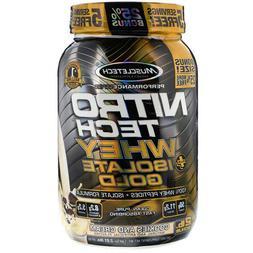MuscleTech Nitro-Tech Whey Plus Isolate Gold, Vanilla Bean 2