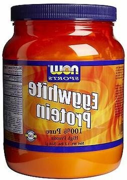 NOW Foods Egg White Protein, 1.2 lb Unflavored Powder