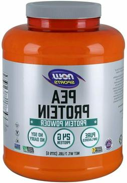NOW Sports Nutrition, Pea Protein 24G Fast Absorbing Unflavo