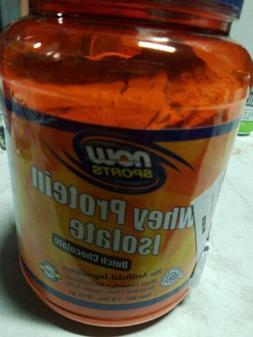 NOW Sports Whey Protein Isolate Protein Powder Dutch Chocola