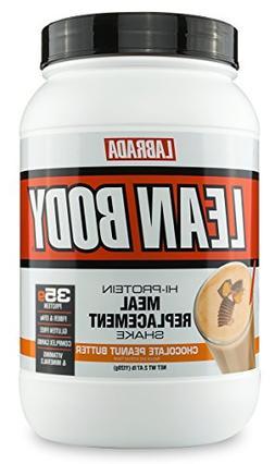 Labrada Nutrition - Lean Body Mrp Tub - Chocolate Peanut But